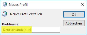 Outlook Profilname