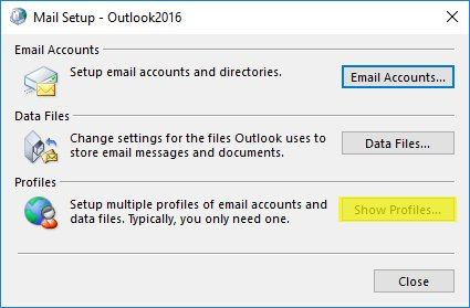 Outlook 2016: Autodiscovery not working (Office 365/Germany Cloud